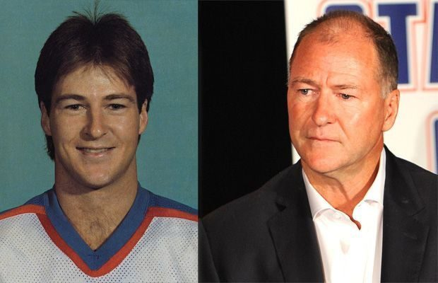 Split photo of younger and older Kevin Lowe - Vivo Resorts